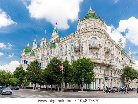 City Duma Building In Central Rostov-on-don