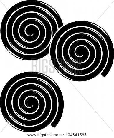 liquorice wheels symbol