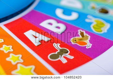Colorful Kids Alphabet Toy