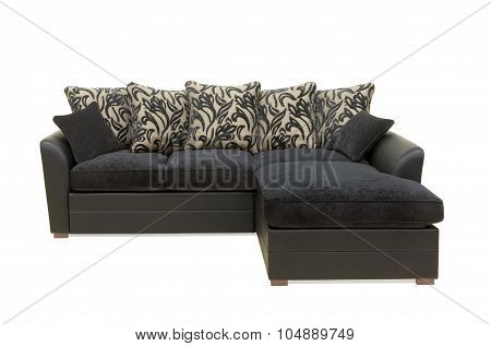 Black Sofa.