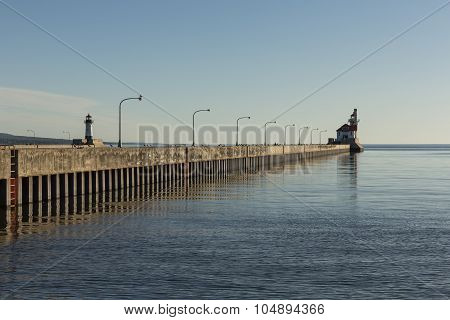 Duluth Canal Lighthouses