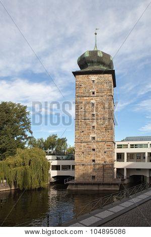 Shitkovskaya water tower. Prague. Czech Republic.