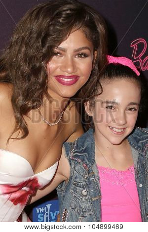 LOS ANGELES - SEP 26:  Zendaya Coleman, Fan at the Barbie Rock 'N Royals Concert Experience  at the Hollywood Palladium on September 26, 2015 in Los Angeles, CA