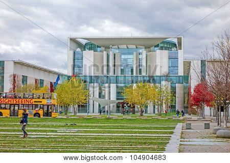 Federal German Chancellery, Berlin