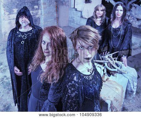 Five Satanic Worshippers