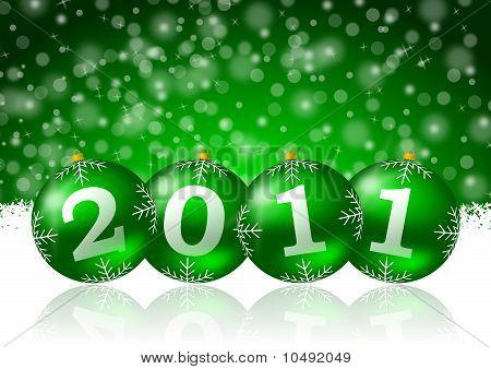 2011 new year illustration