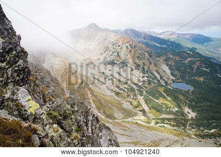 bird's eye view from Ostry Rohac, Tatras