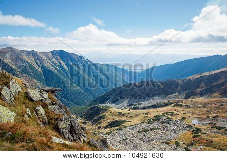 view from Ostry Rohac peak