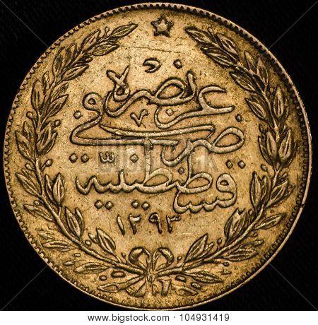 Kurush Turkey Gold Coin