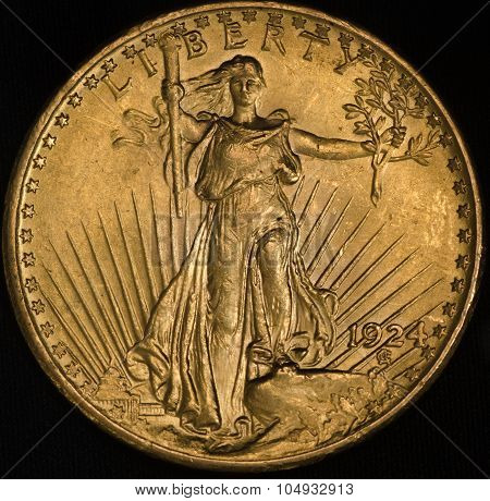 United States Gold Coin Saint-gaudens Double Eagle