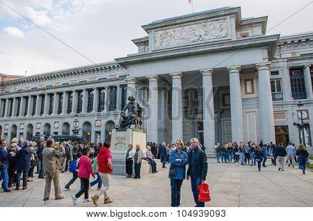 Prado Museum Entrance