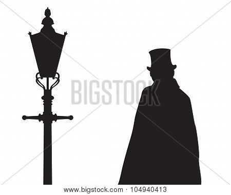 Jack The Ripper And Street Light