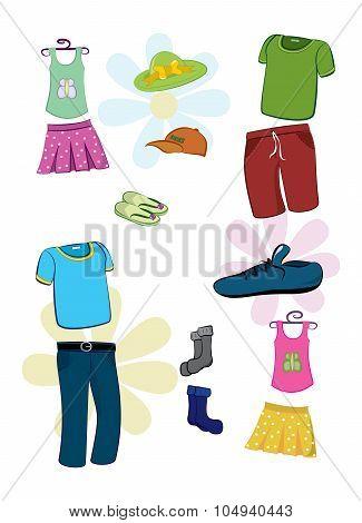 Wear Clothes Vector