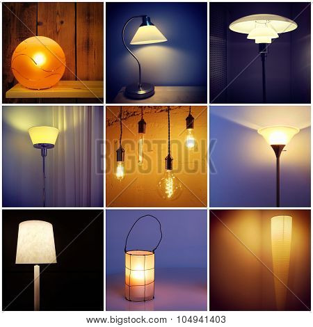 Different Styles Of Modern Lamps