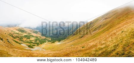 view from Volovec at Tatras