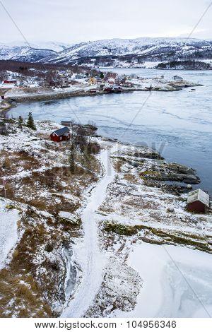 Whirlpools of the maelstrom of Saltstraumen near Bodo, Nordland Norway