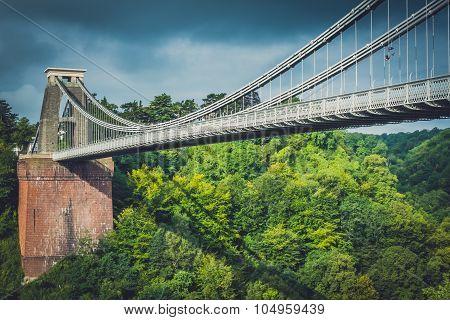 View of Clifton Bridge