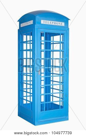 blue phonebooth