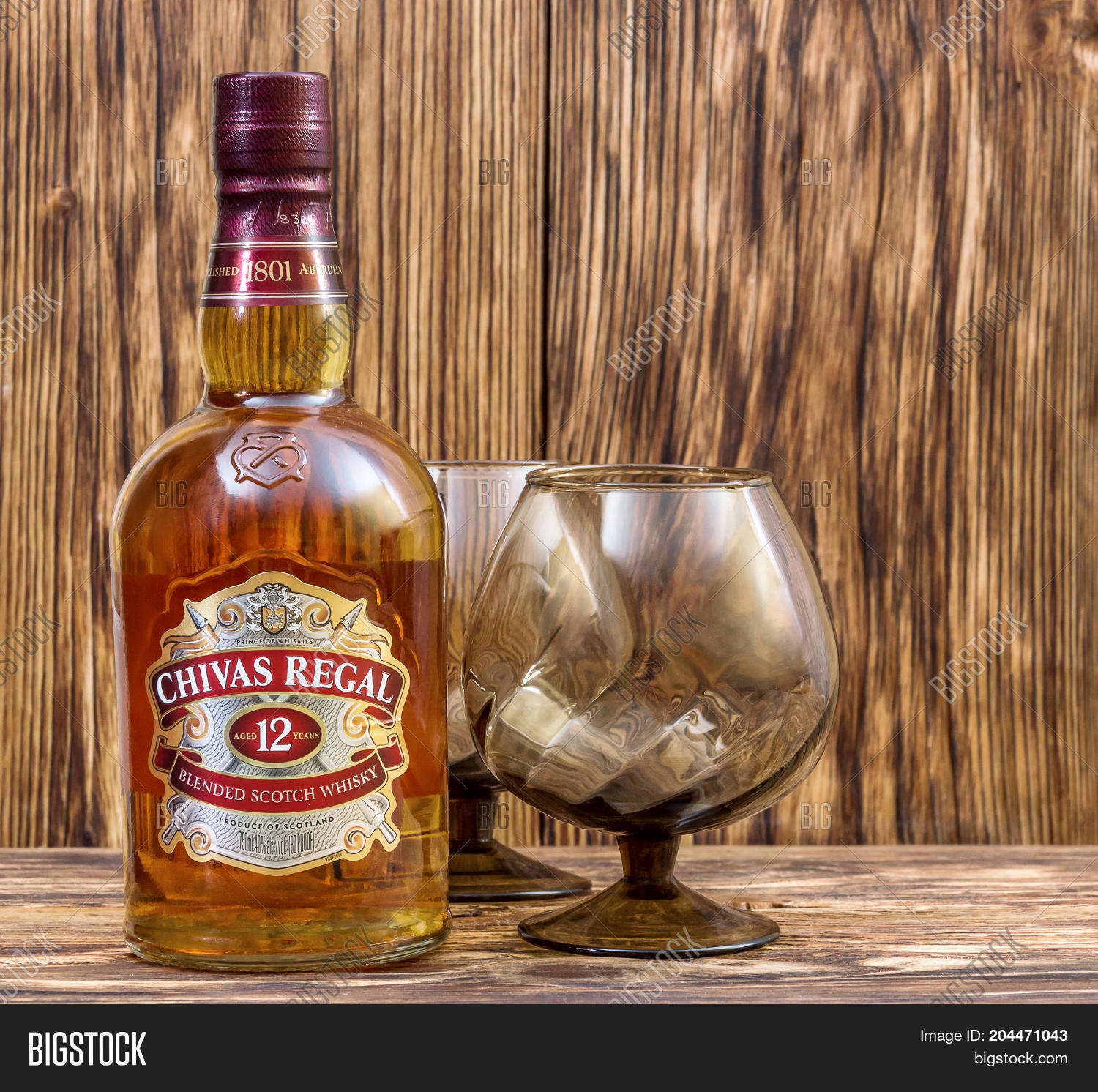 Ternopil ukraine august 26 2017 image photo bigstock ternopil ukraine august 26 2017 bottle of blended scotch whisky chivas regal 12 voltagebd