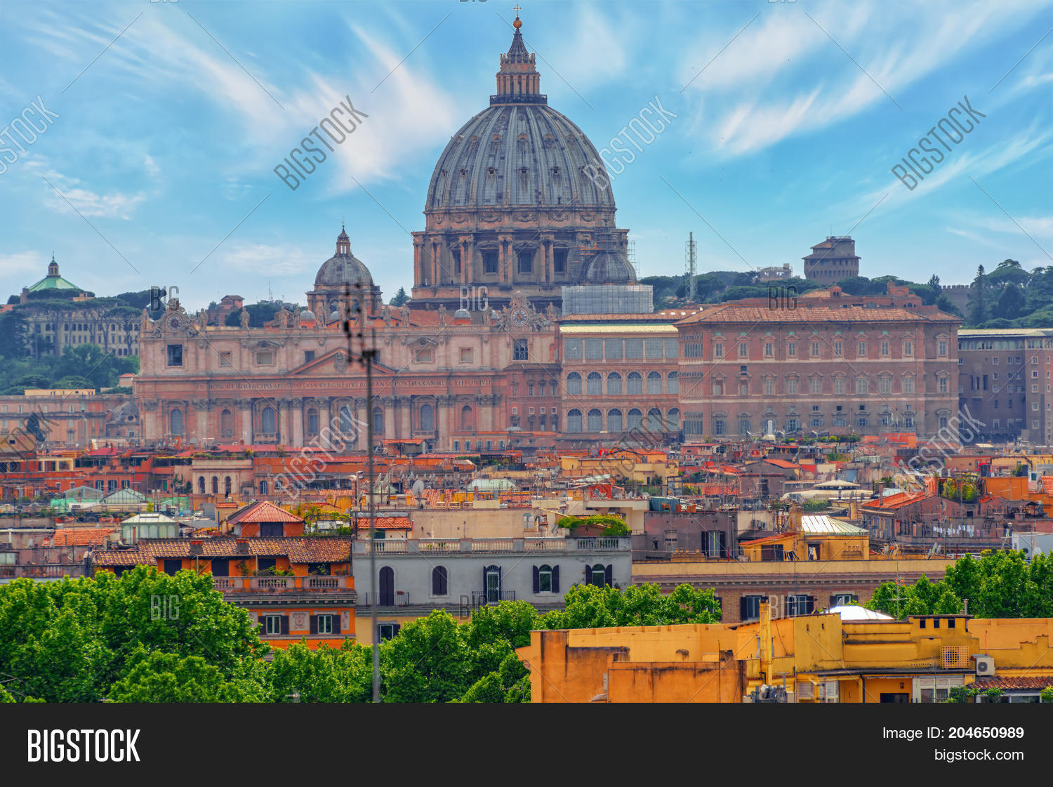 View City Rome Above, Image & Photo (Free Trial) | Bigstock