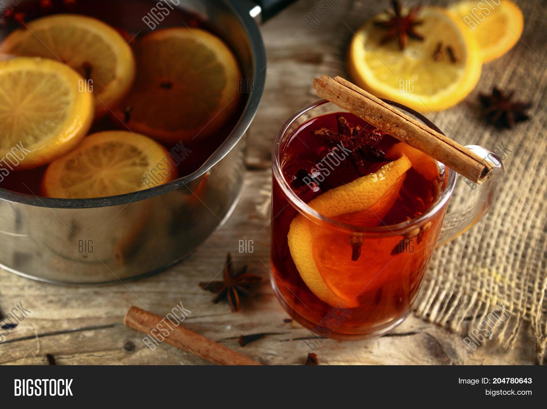 Mulled Wine Glass Mug Image Photo Free Trial Bigstock