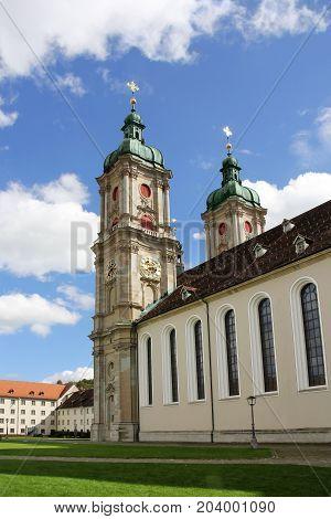 St. Gallen abbey, Switzerland - UNESCO world heritage site