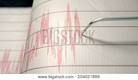 Seismograph Earthquake Activity