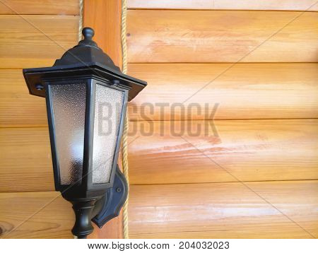 lantern wooden wall bulb, light hardwood, lumber, illumination, nature, retro, home