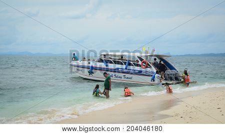 Seascape Of Krabi, Thailand