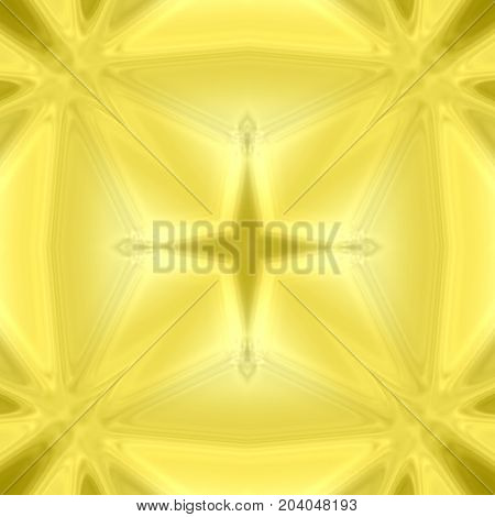 Yellow seamless star abstract background tile design