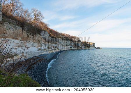 Stevns Cliffs In Denmark