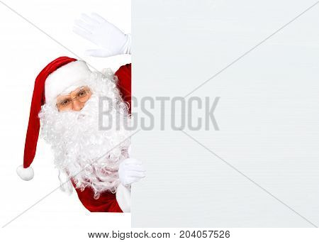 Portrait claus santa santa claus holiday background holiday party fun