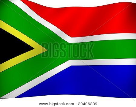 THE REPUBLIC OF SOUTH AFRICA. National Flag