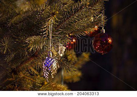 Outdoor Christmas Tree Decoration
