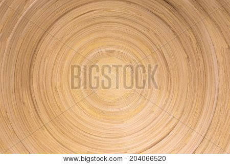 Wood Surface Texture Of Wood In Circle