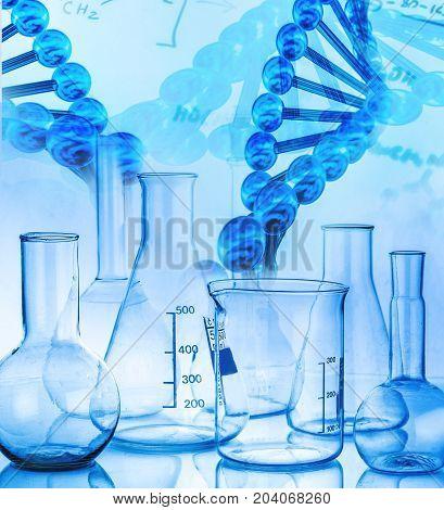 Test lab laboratory science tubes periodic table medicine glass
