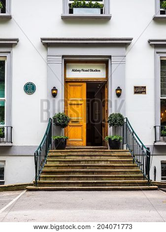 Abbey Road Studios In London (hdr)