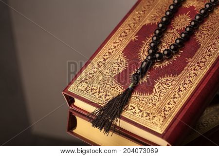 Book islam islamic koran background beautiful greeting