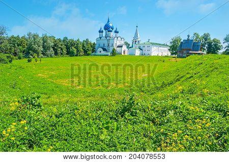 The Old Shafts Of Suzdal Kremlin
