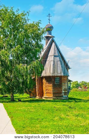 St Nicholas Wooden Church In Suzdal
