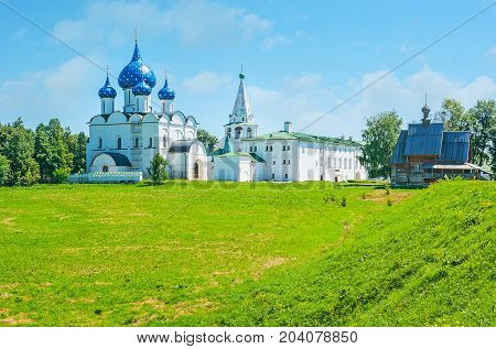 The View On Suzdal Kremlin From Its Shafts