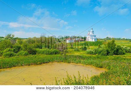 The Church Of Ilya The Prophet In Suzdal