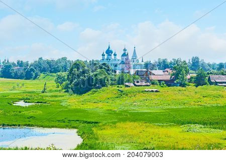 The Skyline Of Suzdal
