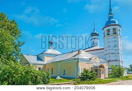 The Churches Of Suzdal Market Square