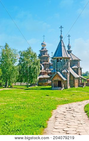 The Walk In Suzdal Wooden Architecture Museum