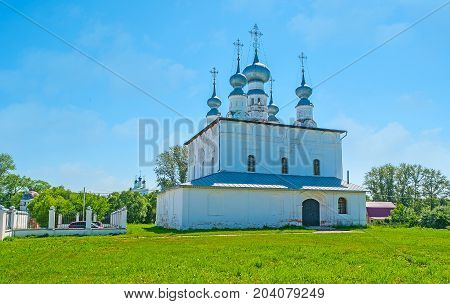 The Church Of St Peter And Paul In Suzdal