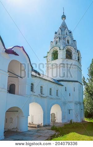 The Old Bell Tower Of Intercession Cathedral In Suzdal