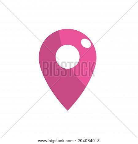 symbol ubication to explore map location vector illustration
