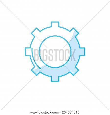 silhouette technology web tools symbol icon vector illustration