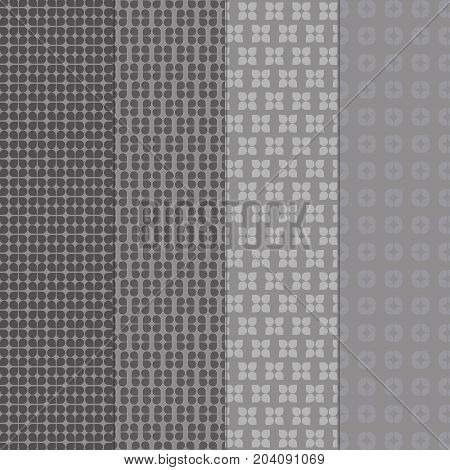 Created vintage style of grey shape pattern background stock vector